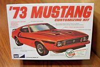 Mpc '73 Mustang Customizing Kit 1/25 Scale Model Kit
