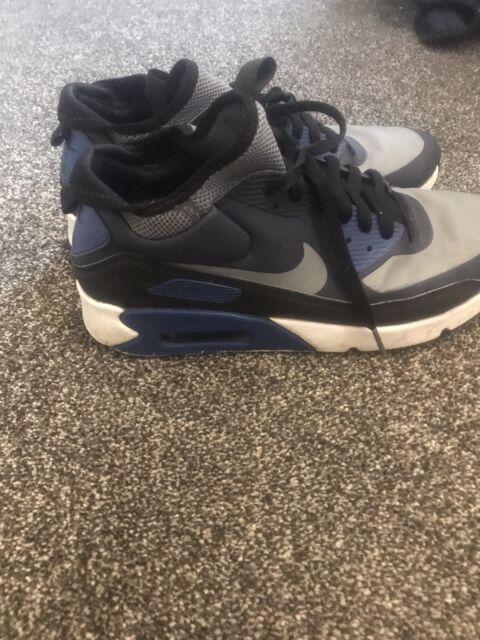 Nike Air Max Trainers Size 8.5 Blue Black Grey Mens/ Womens