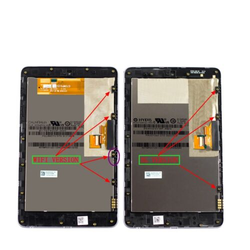 For Google Asus Nexus 7 2nd  Nexus 9 ME370 ME571 LCD Touch Screen Assembly US