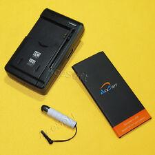 AceSoft Extra Battery Desktop Charger Stylus for Net10 Samsung Galaxy Mega 2 USA