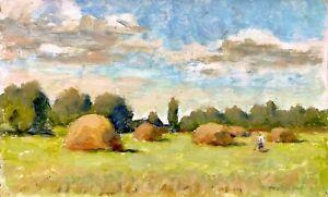 painting-art-IMPRESSIONISM-socialist-realism-vintage-socrelizm-soviet-Maksymenko