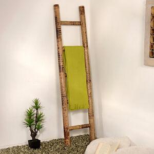 Garderobe Leiter bambus handtuchhalter tiger bambusleiter leiter bambusrohr garderobe