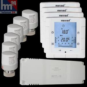 menred ls6 2 floor heating control set 11 pieces ls6 2 set11 ebay