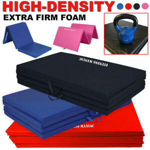 Heavy-Duty-Folding-Mat-Thick-Foam-Fitness-Exercise-Gymnastics-Panel-Gym-Workout