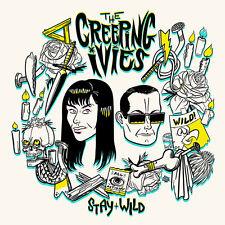 THE CREEPING IVIES Stay Wild LP . garage punk gories oblivians cramps headcoats