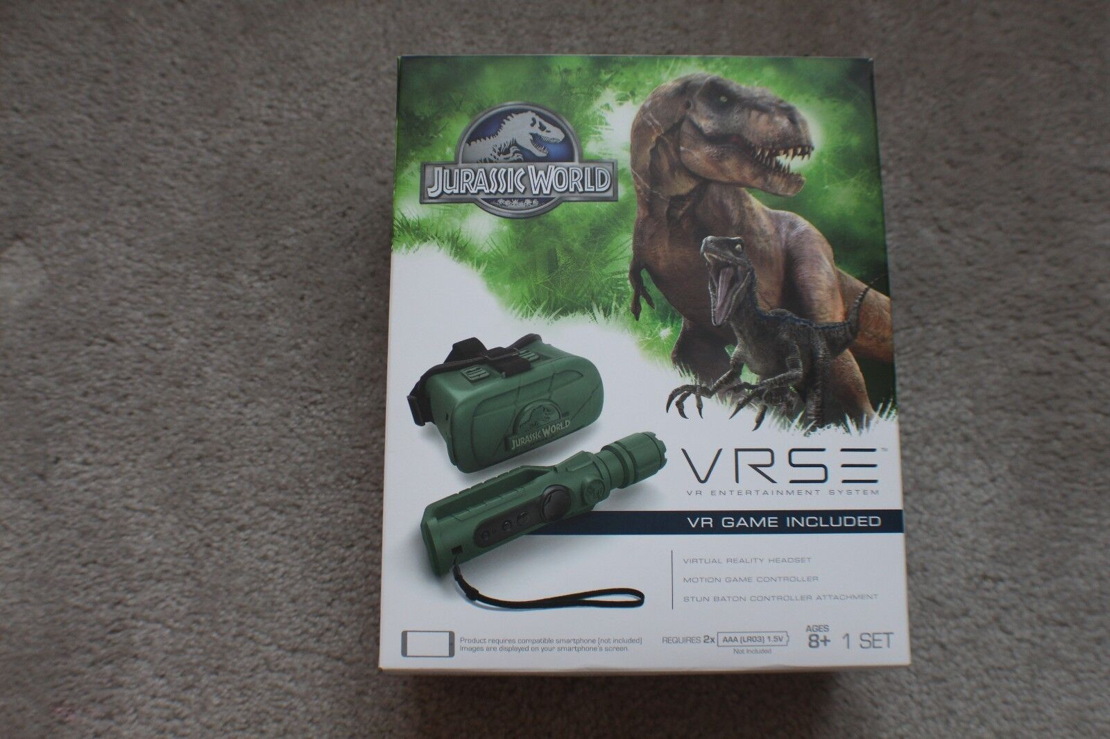 Vrse jurassic park - entertainment - system - free shipping