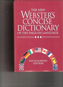 NEW-The-New-Webster-039-s-Concise-Dictionary-of-the-English-Language-Encyclopedic-E