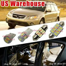 14-pc Luxury White LED Lights Interior Package Kit for 00-09 Subaru Outback
