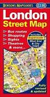 London Street Map by Bensons MapGuides (Sheet map, folded, 2013)