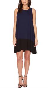 Lilla P damen Navy schwarz Farbe Block Dress Sz XL 2016