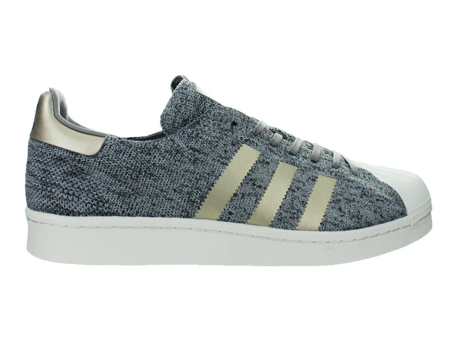 Adidas Originals Superstar Boost Primeknit Noble Metals Grey gold White BB8973
