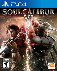 SOULCALIBUR VI (6) PS4 (Sony PlayStation 4, 2018) Brand New - Region Free
