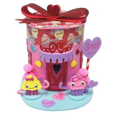 Creatology Valentines 3D Structure Sweet Shop 80 pcs Arts Crafts Foam Kit