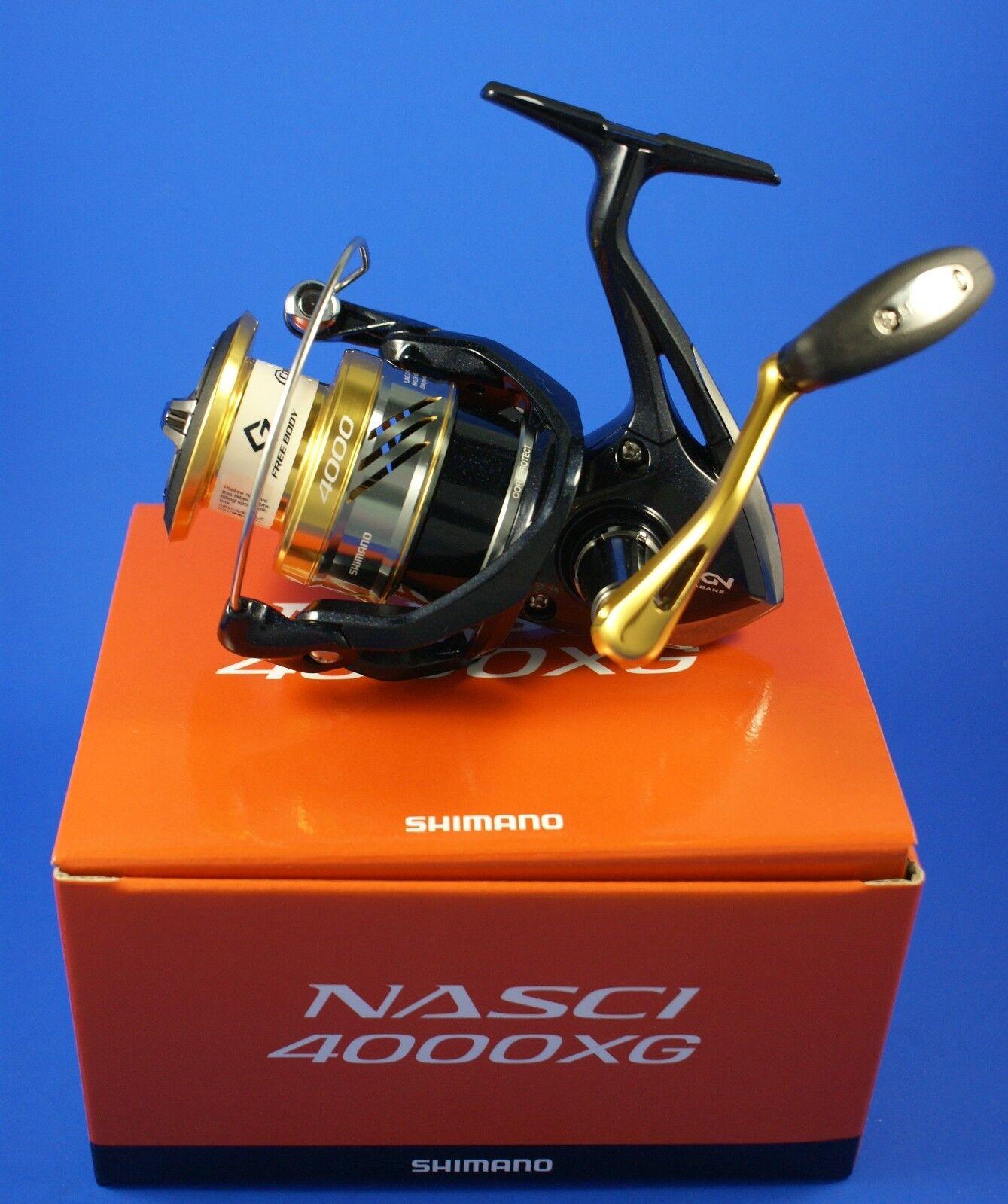 Shimano Nasci 4000XG FB // NAS4000XGFB // Front Drag Fishing Reel