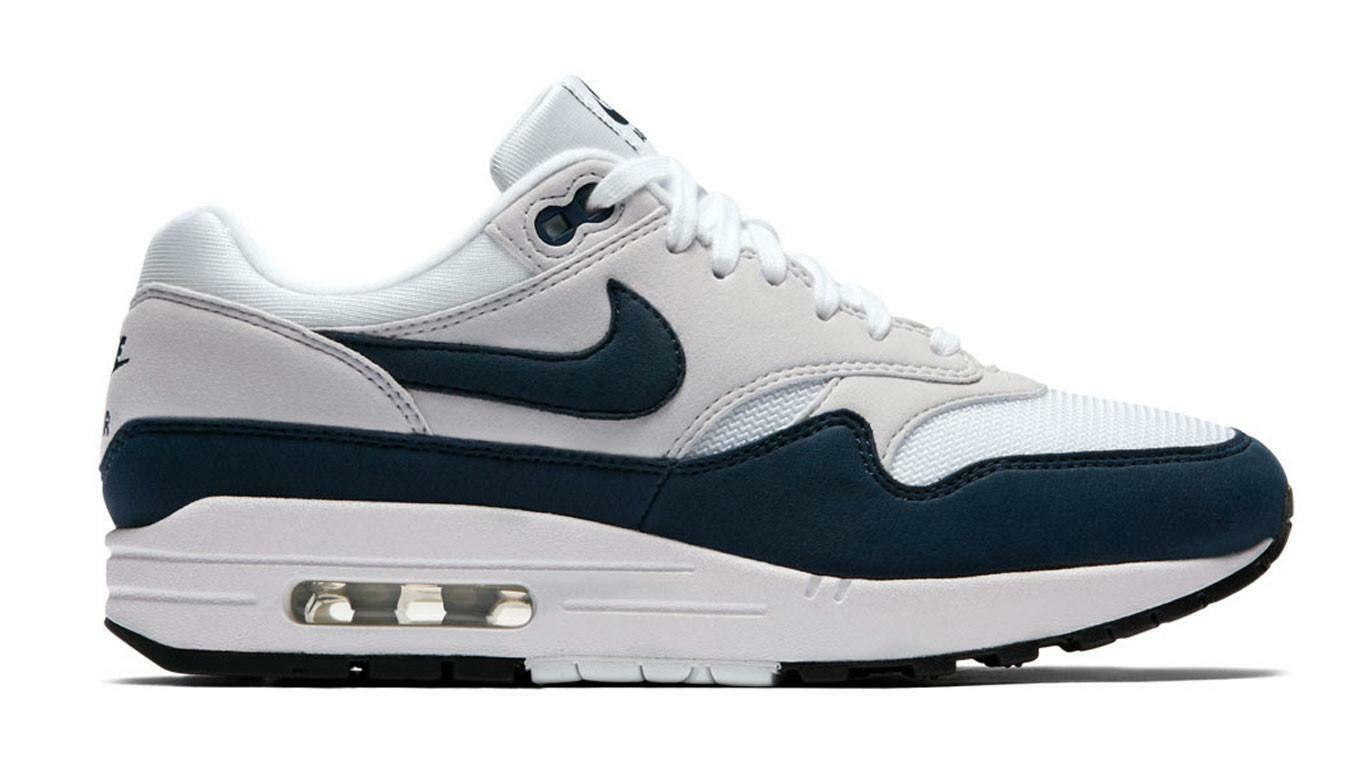 mujer nike air max 1 navy zapatos 319986 104