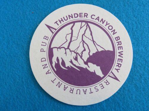 Beer Coaster ~*~ Thunder Canyon Brewery ~ Prescott Since 1994 ARIZONA Brewing