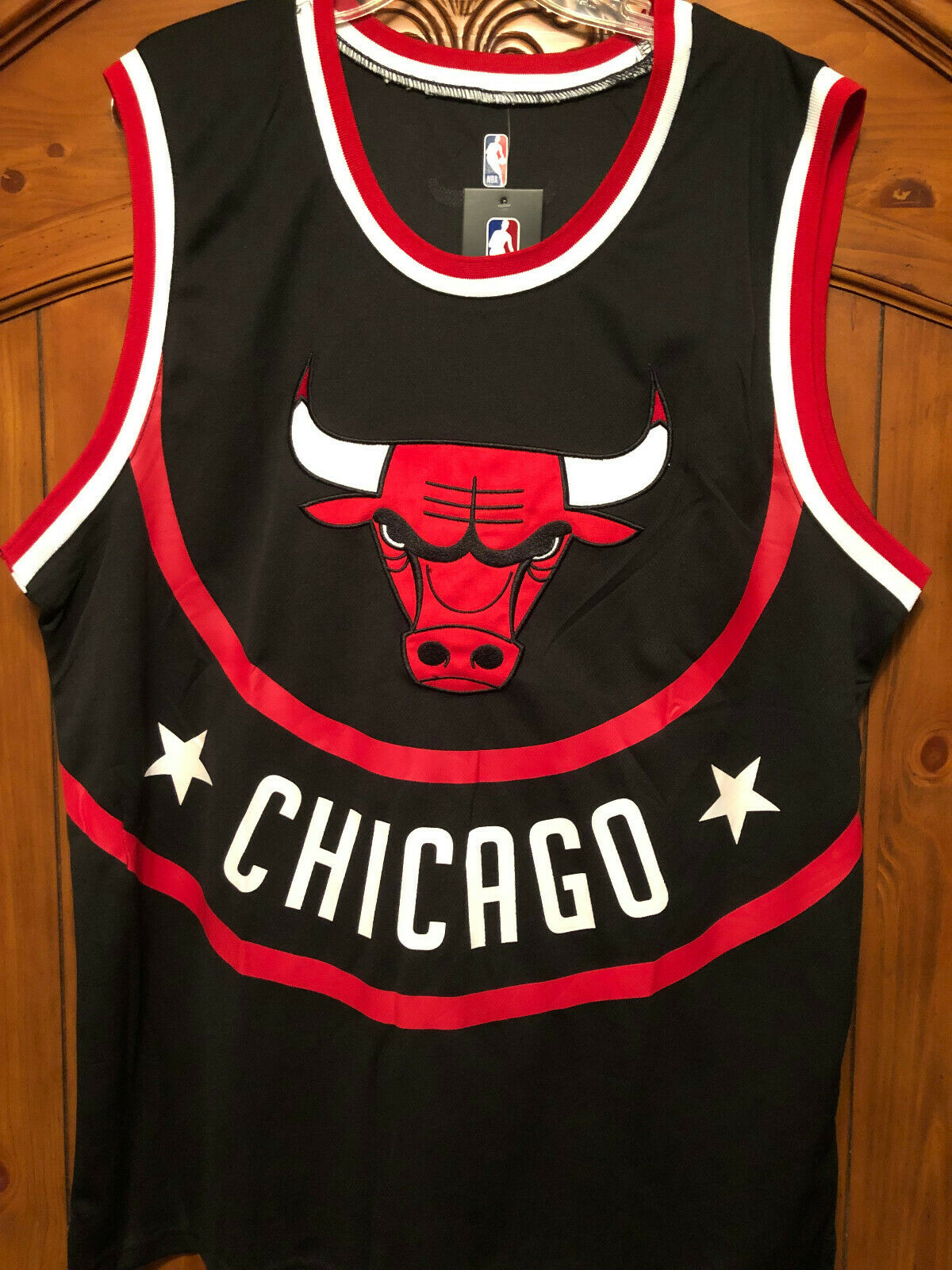 info for 6438d 7e8c7 Chicago Bulls Throwback Old-school Jersey 66 (Size XLarge ...