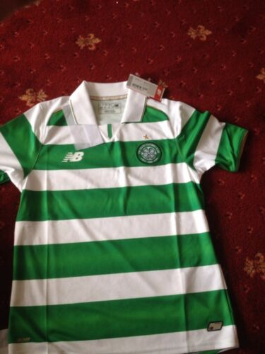 Celtic home FOOTBALL shirt SS 11 TO 12 LB new R.R.P 39.99 GLASGOW CELTIC