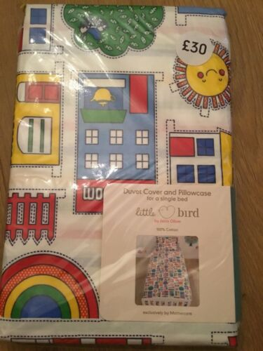 Quilt Cover Set Mothercare Little Bird By Jools Oliver Single Bed Duvet