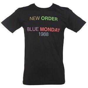 T-SHIRT-UOMO-TG-S-NEW-ORDER-BLUE-MONDAY-1988-JOY-DIVISION-NERO-WORN-BY-MEN-SHIRT
