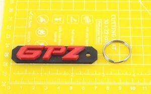 Kawasaki-GPZ-plastic-keyring-Keychain-Porte-Cles-keyholder-motorcycle