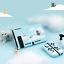 miniature 2 - GeekShare Nebula Cat Nintendo Switch Protective Case Game Accessories TPU Cover