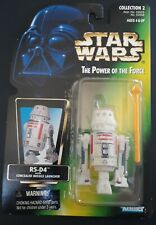 R5-D4 Hasbro // Kenner Green Card with Holo.. Star Wars The Power of the Force Action Figure