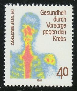 Germany 1981 MNH Mi 1089 Sc 1348 Examination for the prevention of cancer **