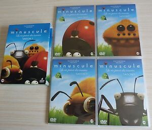 COFFRET-4-DVD-PAL-FILM-ZONE-2-MINUSCULE-LA-VIE-PRIVEE-DES-INSECTES-SAISON-1