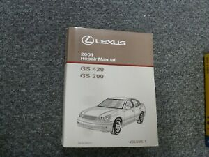 2001 Lexus GS430 GS300 Specifications & Diagnostics Shop ...