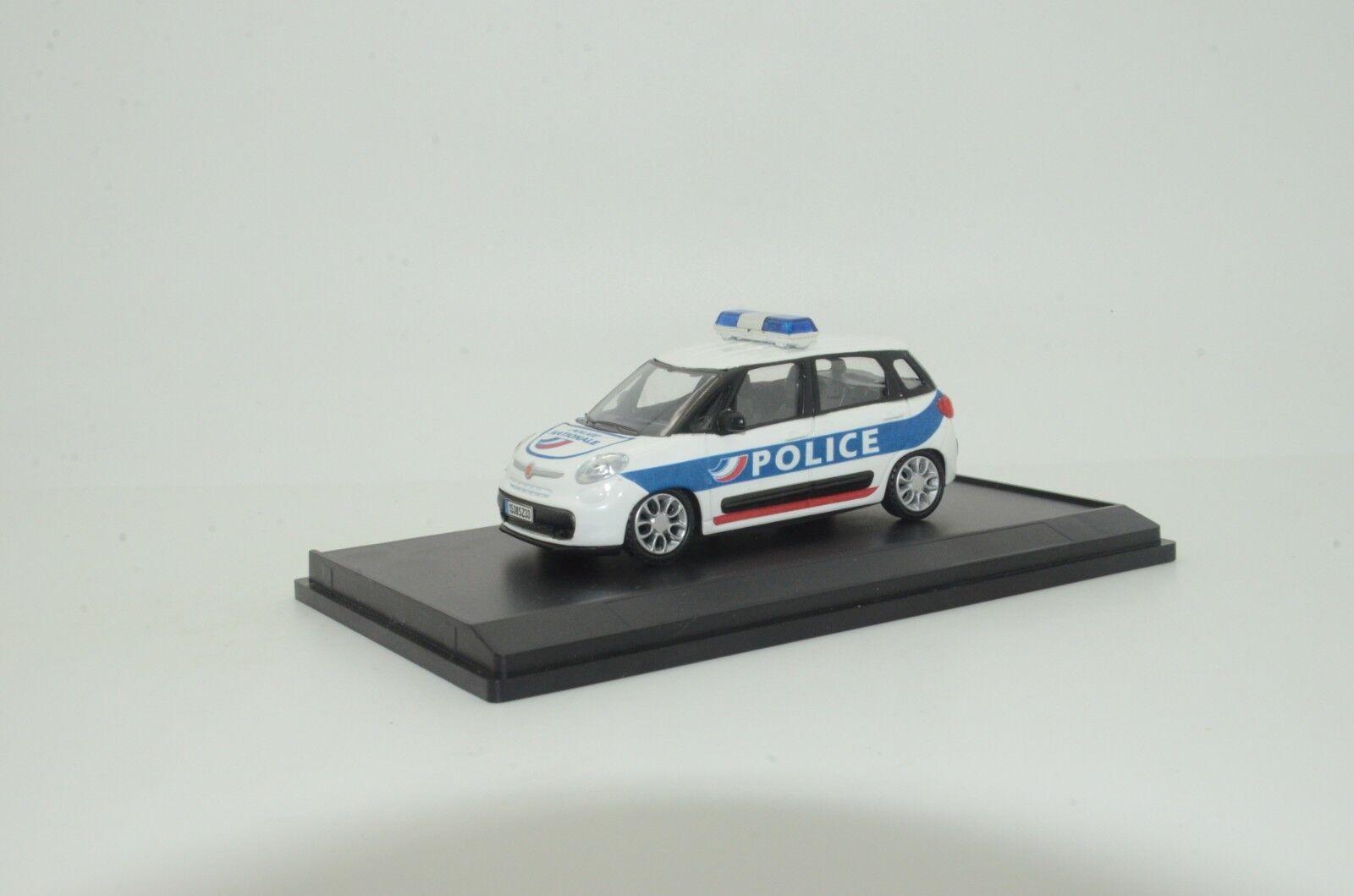 Rara Fiat 500 Francia policía Hecho a Medida 1 43