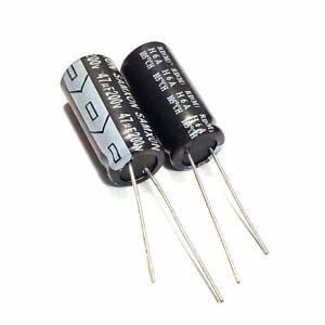 10pcs 450v 47uf 47mfd 105c aluminum electrolytic capacitor 10×50mm radial