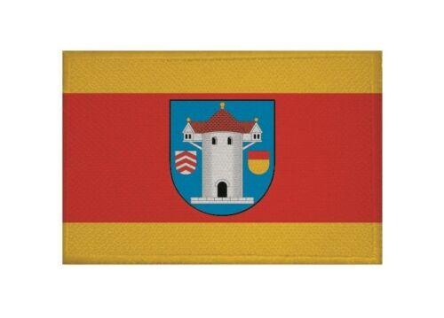 Aufnäher Butzbach Fahne Flagge Aufbügler Patch 9 x 6 cm