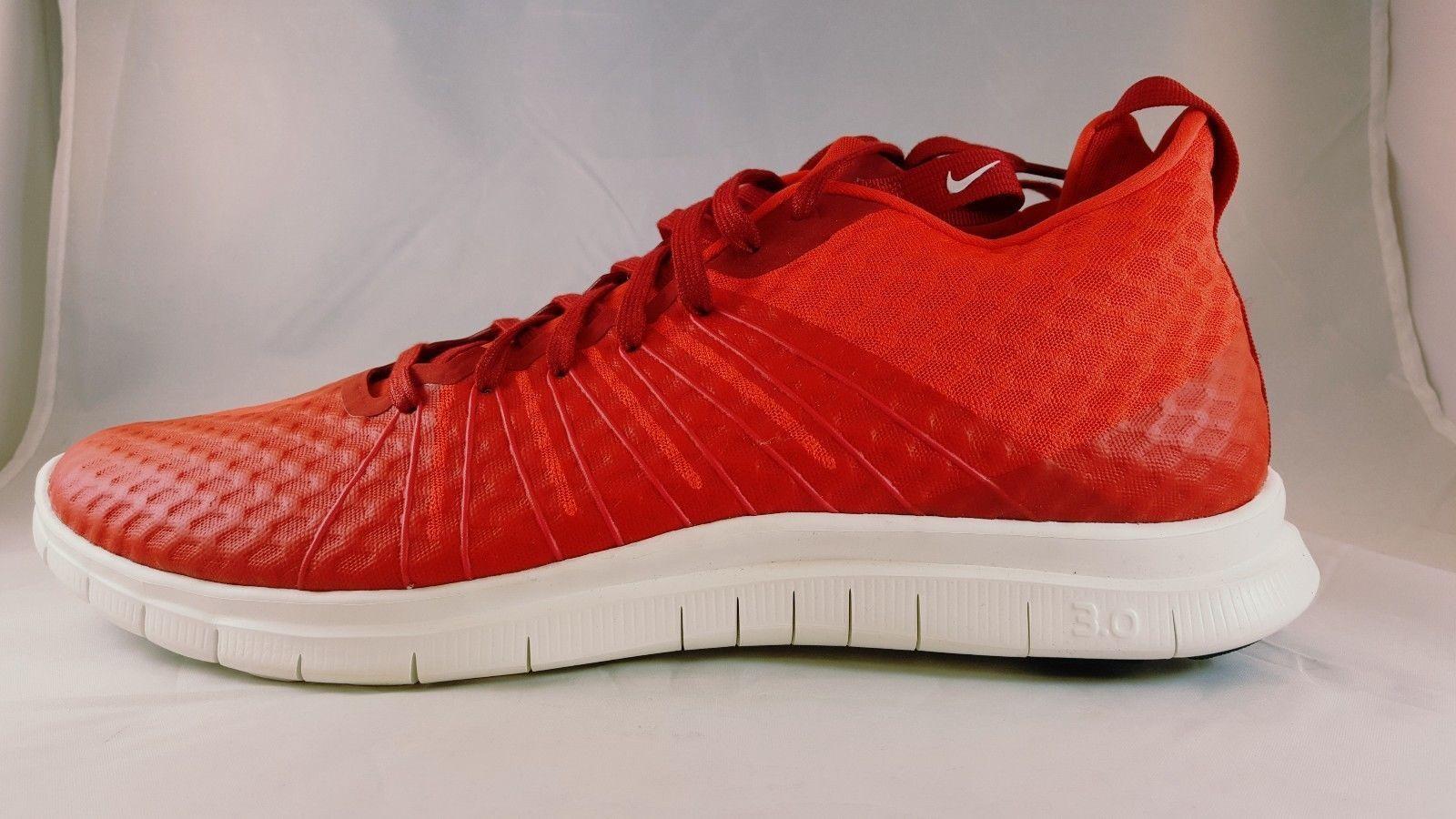 Nike Free Hypervenom 2 FS Men's Athletic Shoe 805890 600 Size 15