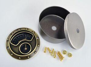 Steampunk Gauge Kit - Brass Finish - Steampunk Art - Industrial Gauge - Gears