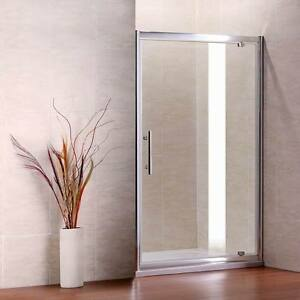 Pivot-Walk-in-Shower-Enclosure-Door-Glass-Screen-Cubicle-Side-Panel-Stone-Tray-P