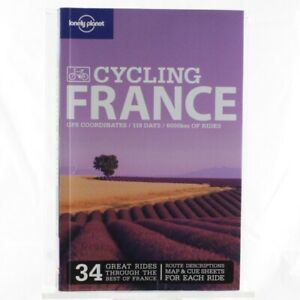 Lonely-Planet-Travel-Guide-Cycling-France-Reference-Book-Maps-Attractions-Help
