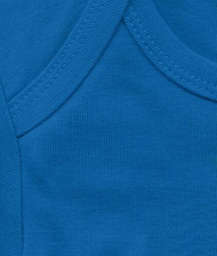 DC Comics Superhero blau Superman Logo Strampler Baby Body LOGOSHIRT