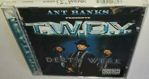ANT BANKS PRESENTS T.W.D.Y. DERTY WERK (1999) BRAND NEW SEALED CD TOO SHORT E-40