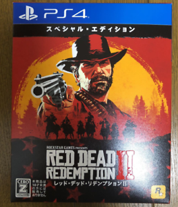 PS4-Red-Dead-Redemption-II-2-Special-Edition-JAPAN-Sony-PlayStation-4-game