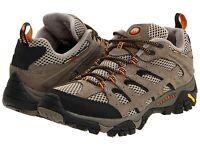 Men's Merrell Moab Ventilator Hiking Shoe Walnut Beige J86595