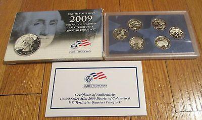 2009 S Clad Proof U.S Virgin Islands Territory Quarter Choice Uncirculated US Mint
