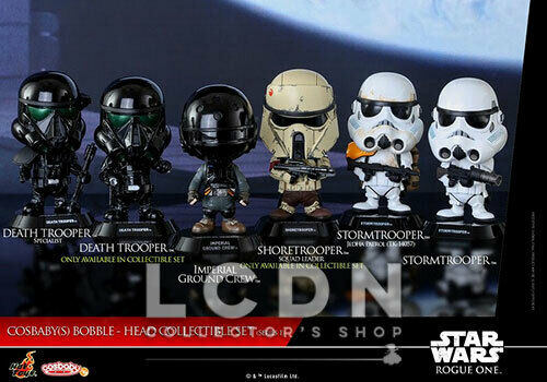 Hot Toys COSB335 Star Wars Rogue One Cosbaby Series 1 Collectible Set of 6