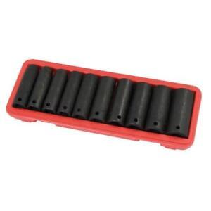 10-pezzo-1-3cm-Drive-impatto-profondo-unita-da-parete-Set-chiavi-in-custodia