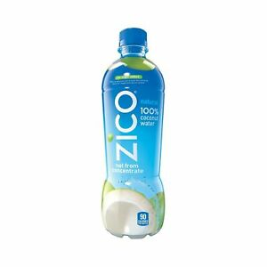 Details about ZICO Natural 100% Coconut Water Drink No Sugar Added Gluten  Free 16 9 fl oz