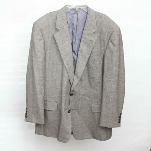 Hickey Freeman Paul Simon Gray White Black Wool H… - image 1
