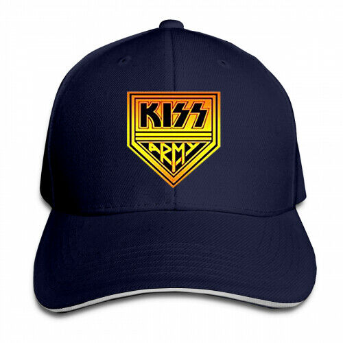 Cool Snapback Kiss Rock Band Logo Baseball Unisex Adjustable Caps
