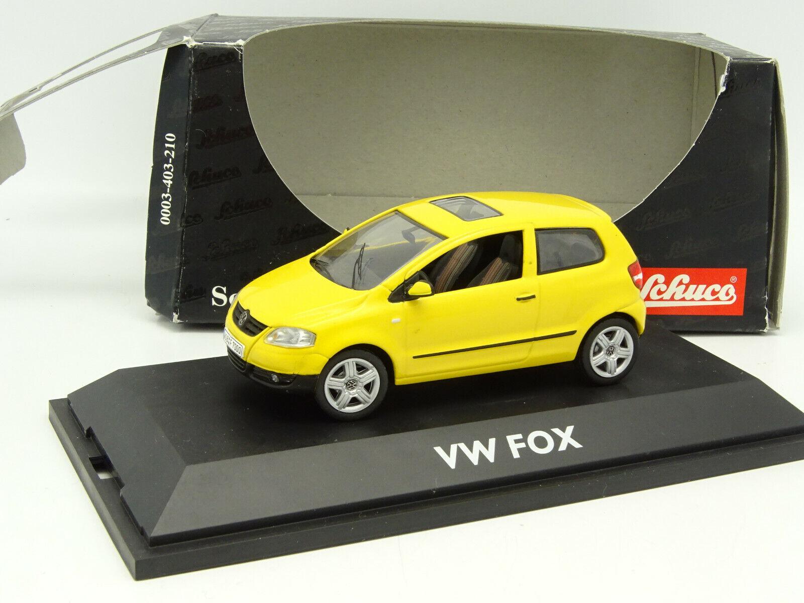 Schuco 1/43 - VW Fox Gialla