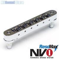 Graph Tech Pm-8843-c0 - Nv1 4mm Tune-o-matic Bridge Resomax Alloy Saddles Chrome