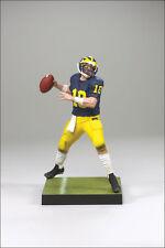 McFarlane College Football 1 TOM BRADY action figure-Michigan-Patriots-NFL-NIB